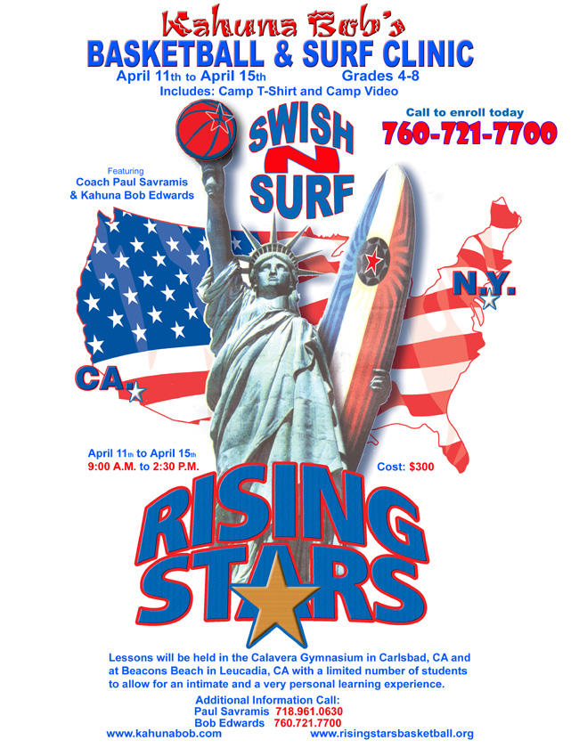 Basketball & Surf Clinic